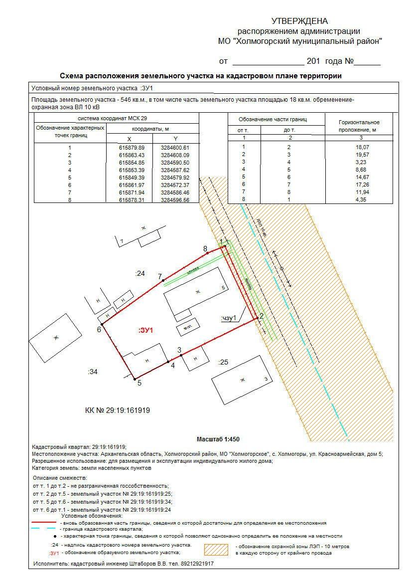 Схема расположения участков кадастровой фото 828